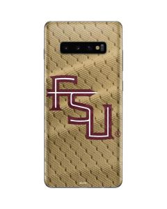 FSU Gold Print Galaxy S10 Plus Skin