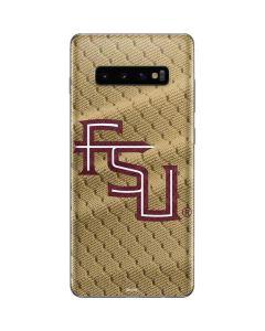 FSU Gold Print Galaxy S10 Plus Skin
