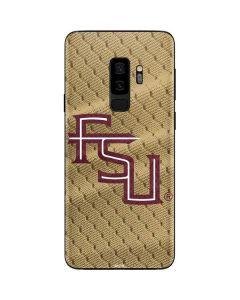 FSU Gold Print Galaxy S9 Plus Skin