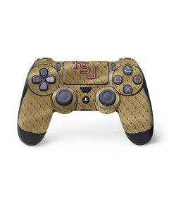 FSU Gold Print PS4 Controller Skin