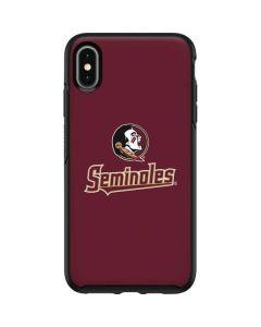 FSU Seminoles Otterbox Symmetry iPhone Skin