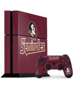 FSU Seminoles PS4 Console and Controller Bundle Skin