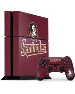 FSU Seminoles PS4 Console and Controller Bundle Skin