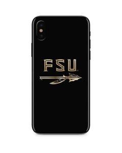 FSU Spear Logo iPhone X Skin