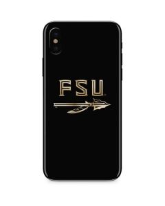 FSU Spear Logo iPhone XS Skin