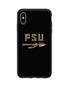 FSU Spear Logo Otterbox Symmetry iPhone Skin