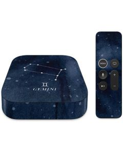 Gemini Constellation Apple TV Skin