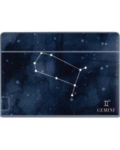 Gemini Constellation Galaxy Book Keyboard Folio 12in Skin
