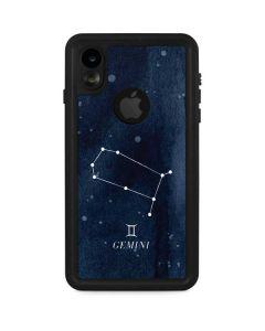 Gemini Constellation iPhone XR Waterproof Case
