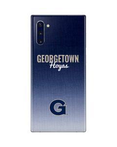 Georgetown Hoyas Galaxy Note 10 Skin
