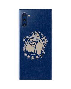Georgetown Jack the Bulldog Mascot Galaxy Note 10 Skin