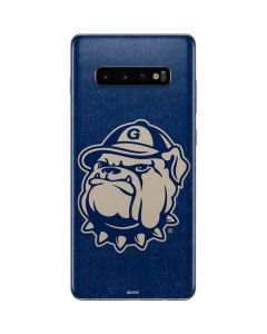 Georgetown Jack the Bulldog Mascot Galaxy S10 Plus Skin