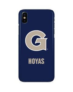 Georgetown Large Logo iPhone X Lite Case