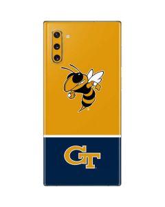 Georgia Tech Yellow Jackets Galaxy Note 10 Skin