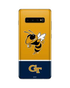 Georgia Tech Yellow Jackets Galaxy S10 Plus Skin