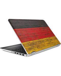 German Flag Dark Wood HP Pavilion Skin
