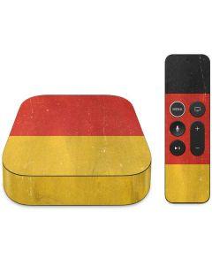 German Flag Distressed Apple TV Skin