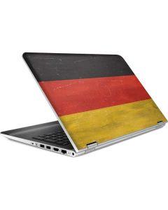 German Flag Distressed HP Pavilion Skin