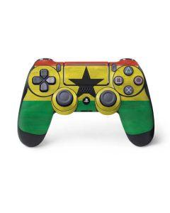 Ghana Flag Distressed PS4 Pro/Slim Controller Skin