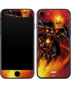 Ghost Rider Drags Chain iPhone 7 Skin