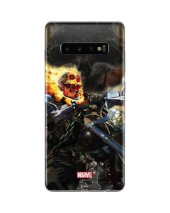Ghost Rider Laughs Galaxy S10 Plus Skin