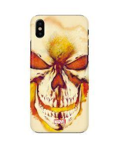 Ghost Rider Skull iPhone X Lite Case