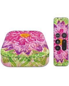 Ginseng Flower Apple TV Skin