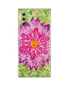 Ginseng Flower Galaxy Note 10 Skin