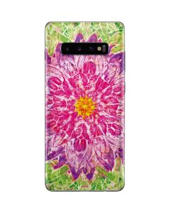 Ginseng Flower Galaxy S10 Plus Skin