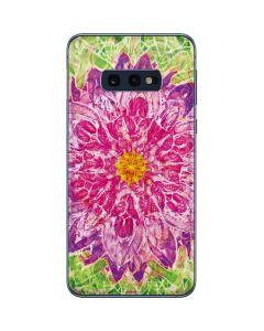 Ginseng Flower Galaxy S10e Skin