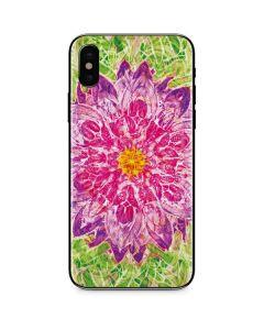 Ginseng Flower iPhone XS Skin