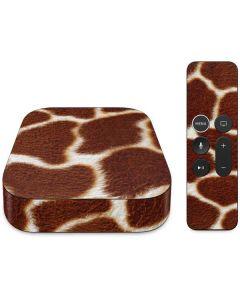 Giraffe Apple TV Skin