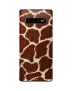 Giraffe Galaxy S10 Plus Skin