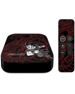 Goku and Shenron Apple TV Skin