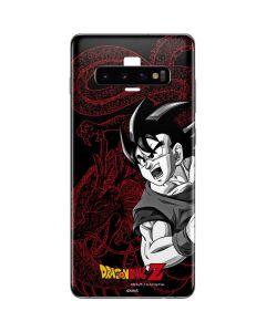 Goku and Shenron Galaxy S10 Plus Skin