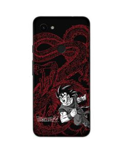 Goku and Shenron Google Pixel 3a Skin