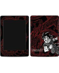 Goku and Shenron Amazon Kindle Skin