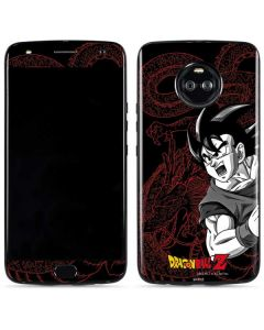 Goku and Shenron Moto X4 Skin