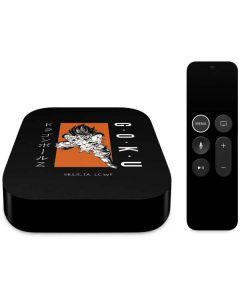 Goku Combat Apple TV Skin