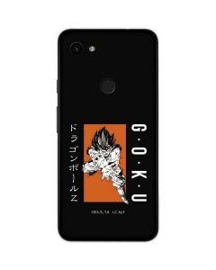 Goku Combat Google Pixel 3a Skin