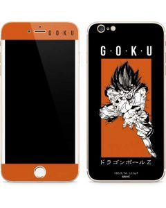 Goku Combat iPhone 6/6s Plus Skin