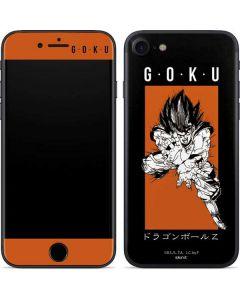 Goku Combat iPhone 7 Skin