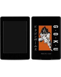 Goku Combat Amazon Kindle Skin