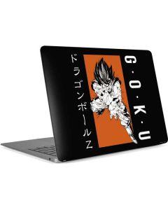 Goku Combat Apple MacBook Air Skin
