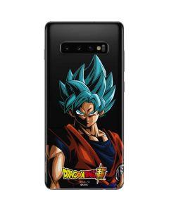 Goku Dragon Ball Super Galaxy S10 Plus Skin