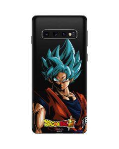 Goku Dragon Ball Super Galaxy S10 Skin