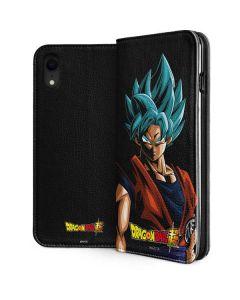 Goku Dragon Ball Super iPhone XR Folio Case