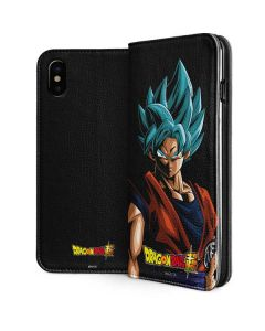 Goku Dragon Ball Super iPhone XS Max Folio Case