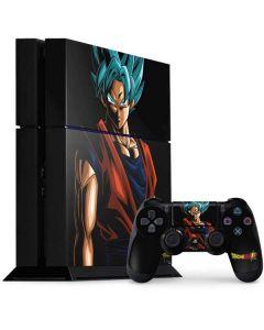 Goku Dragon Ball Super PS4 Console and Controller Bundle Skin