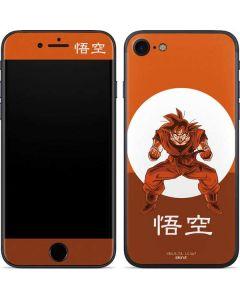 Goku Orange Monochrome iPhone 7 Skin